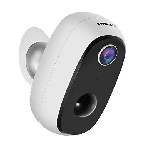 Wireless Rechargeable Battery Powered WiFi Camera,...