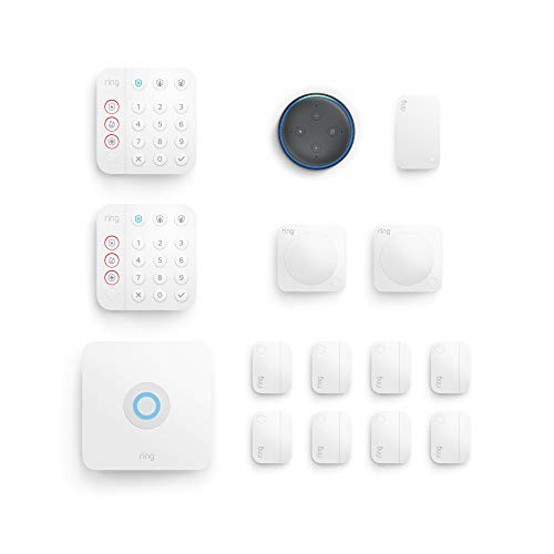 Ring Alarm 14-piece kit (2nd Gen) with Echo Dot