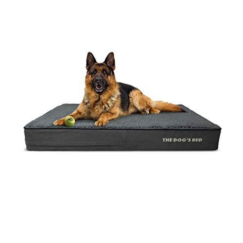 The Dog's Bed Orthopedic Dog Bed, Premium Memory Foam,...