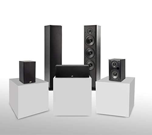 Polk Audio T Series 5 Channel Home Theater Bundle...