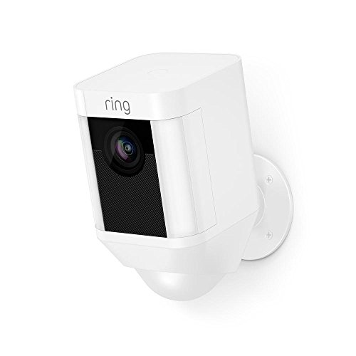 Ring Spotlight Cam Battery HD Security Camera with...