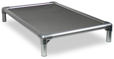 Kuranda All-Aluminum (Silver) Chewproof Dog Bed -...