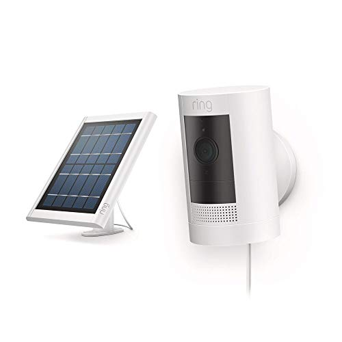 All-new Ring Stick Up Cam Solar HD security camera...