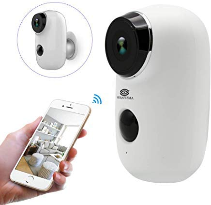 Wifi Security Camera Home Camera Rechargeable...
