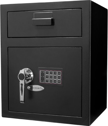 BARSKA AX11930 Large Keypad Security Depository...