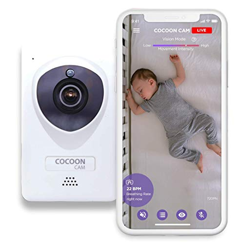 Cocoon Cam Plus Baby Breathing and Video Monitor...