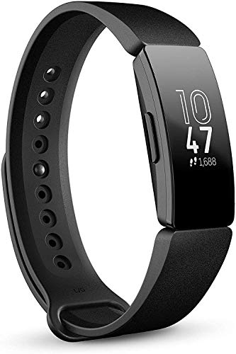 Fitbit Inspire Fitness Tracker, One Size (S and L...