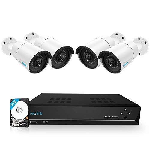 Reolink 8CH 5MP PoE Home Security Camera System,...