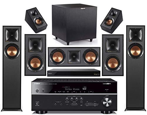Yamaha 7.2-Channel Wireless Bluetooth 4K 3D A/V...