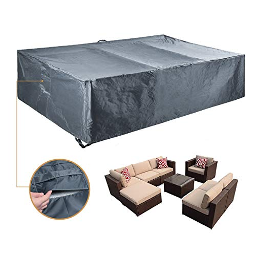 Outdoor Sectional Furniture Cover Patio Furniture...