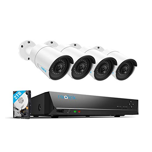 Reolink 4MP 8CH PoE Video Surveillance System,...
