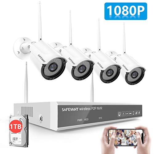 [2020 New] 1080P Full HD Security Camera System...