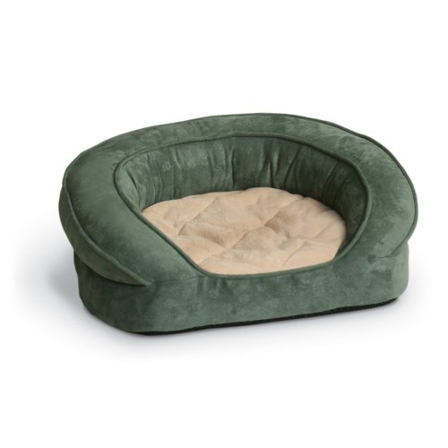 K&H Pet Products Deluxe Ortho Bolster Sleeper Pet...