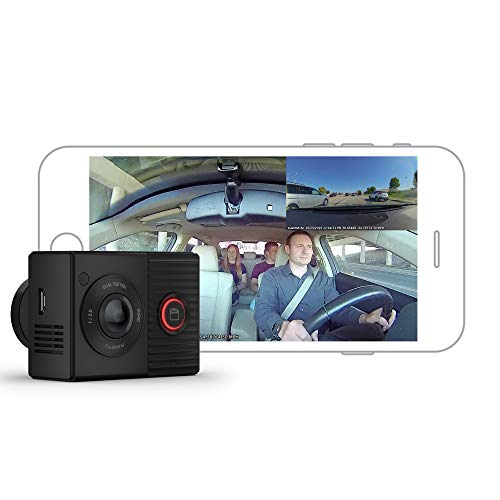 Garmin Dash Cam Tandem, Front and Rear Dual-lens...