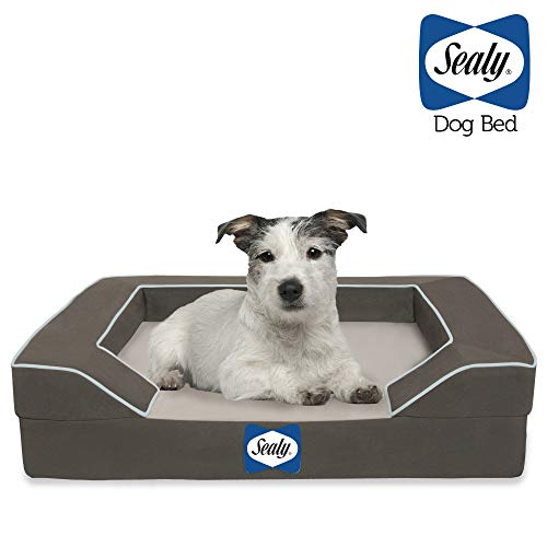 Sealy Dog Bed with Quad Layer Technology, Small,...