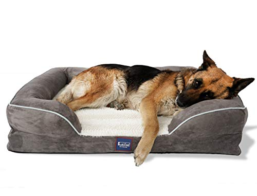 Laifug Orthopedic Memory Foam Dog...