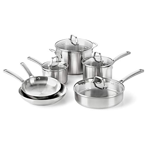 Calphalon Classic Pots And Pans Set, 10-Piece...