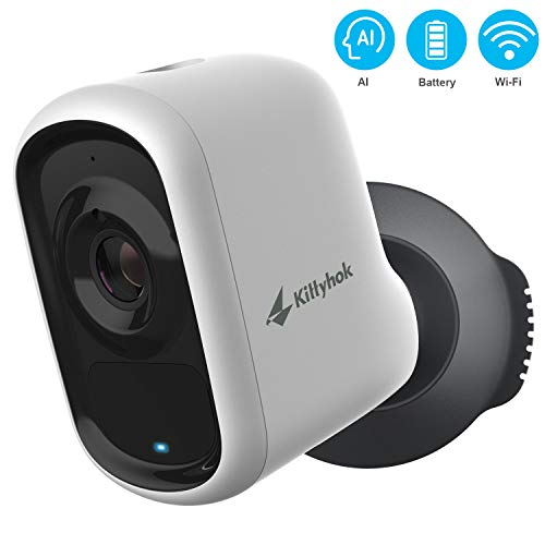 Wireless Outdoor Security Camera with AI...