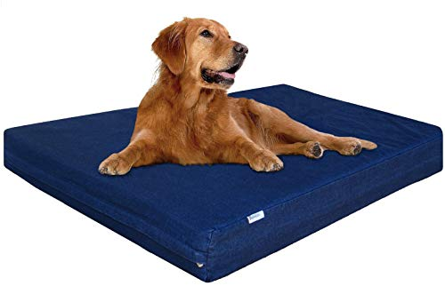 Dogbed4less XL Waterproof Orthopedic Memory Foam...