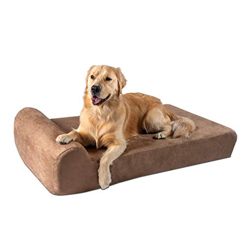 Big Barker 7' Orthopedic Dog Bed with Pillow-Top...