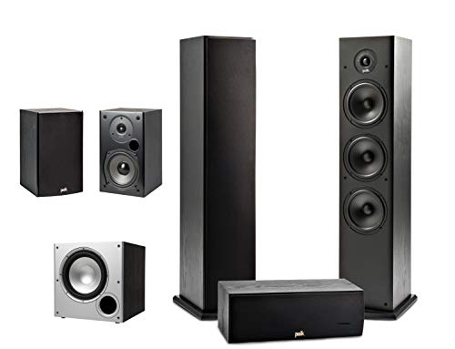 Polk Audio 5.1 Channel Home Theater System with...
