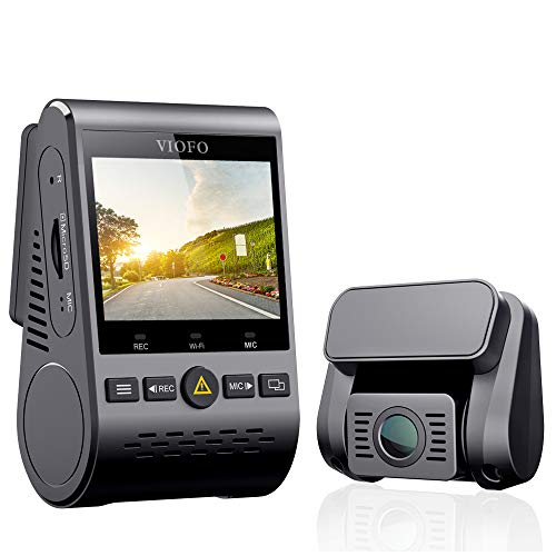 VIOFO Dual Dash Cam A129 Duo Full HD 1080P Front...