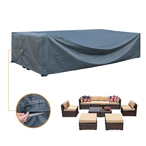 Patio Furniture Set Cover Outdoor Sectional Sofa...