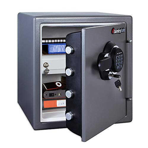 SentrySafe SFW123GDC Fireproof Safe and Waterproof...