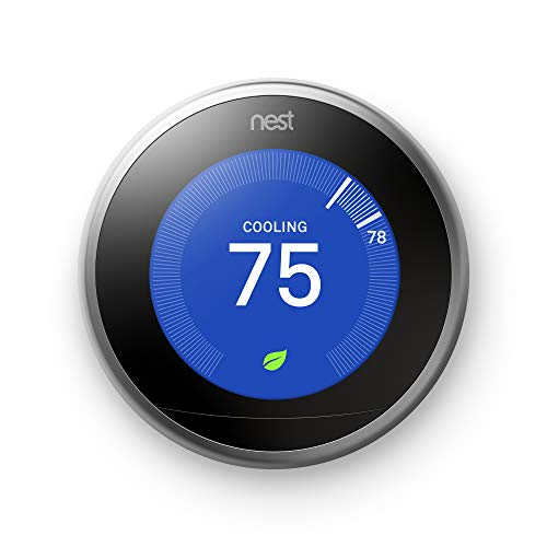 Google, T3007ES, Nest Learning Thermostat, 3rd...