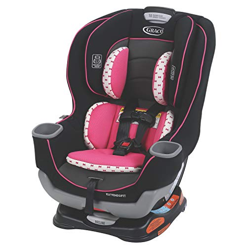 Graco Extend2Fit Convertible Car Seat | Ride Rear...