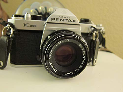 Pentax K1000 Manual Focus SLR Film Camera with...
