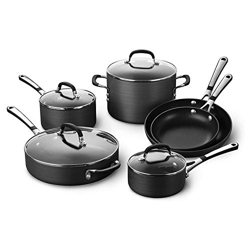 Calphalon Simply Pots and Pans Set, 10 piece...