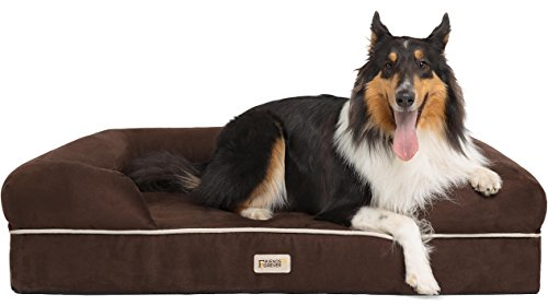 Friends Forever 100% Suede Large Dog Bed/Lounge,...