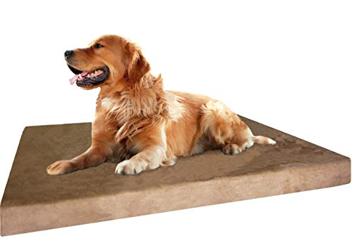 Dogbed4less Extra Large True Orthopedic Gel Memory...