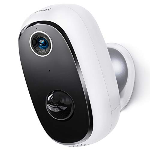 Wireless Outdoor Security Camera,ieGeek Rechargeable Battery...