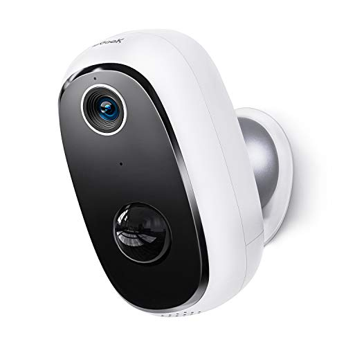 Wireless Outdoor Security Camera, Rechargeable...
