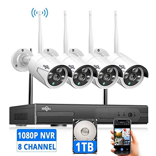 [Expandable 8CH] Hiseeu Wireless Security Camera...