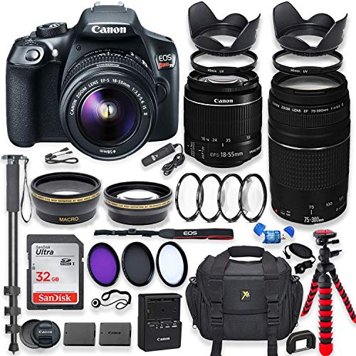 Canon EOS Rebel T6 DSLR Camera with 18-55mm is II...