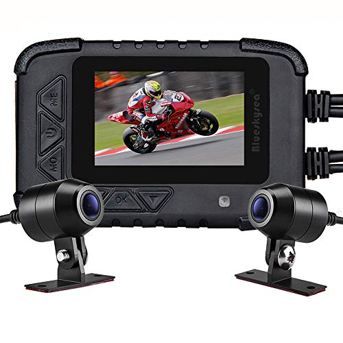Motorcycle Dash Cam Camera, Blueskysea DV688...