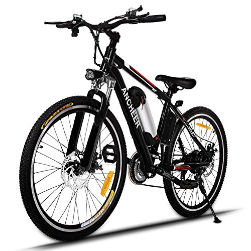 ANCHEER 2019 Upgraded Electric Mountain Bike,...