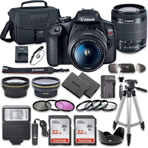 Canon EOS Rebel T7 DSLR Camera Bundle with Canon...