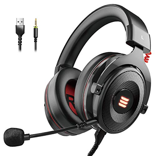 EKSA E900 USB Gaming Headset-Xbox One Headset with...