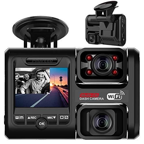 Pruveeo D30H Dash Cam with Infrared Night Vision...