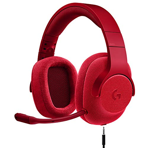 Logitech G433 7.1 Wired Gaming Headset with DTS...