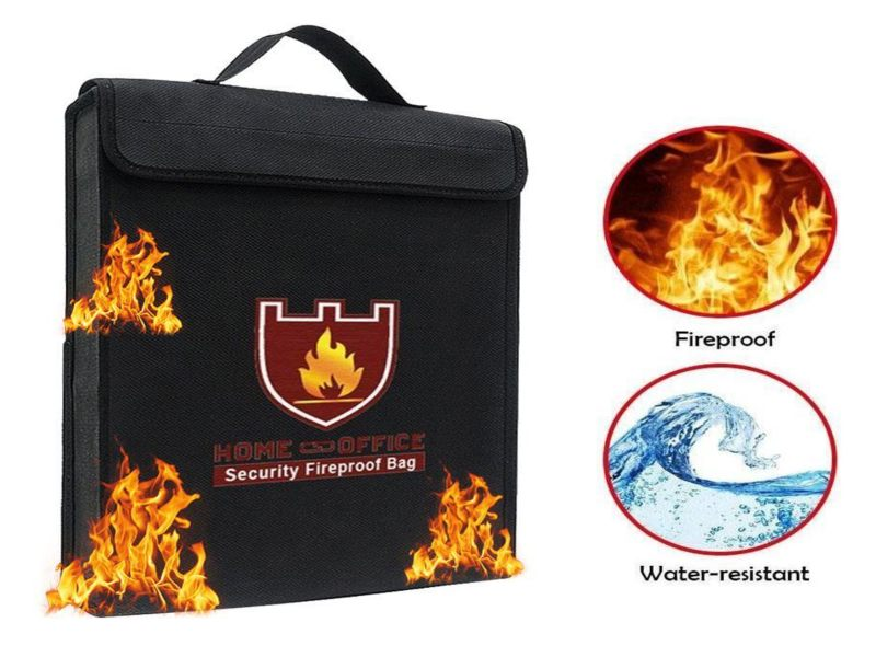 Fireproof Waterproof Document Bag