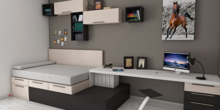 Full-Size Beds with Drawers Underneath