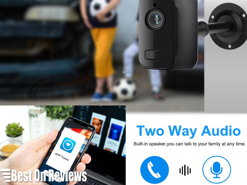 Outdoor Battery Powered Security Cameras with Smartphone Apps