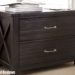 2 Drawer Locking File Cabinet Wood