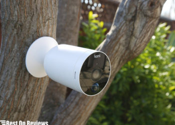 Battery Operated Security Camera with A Memory Card