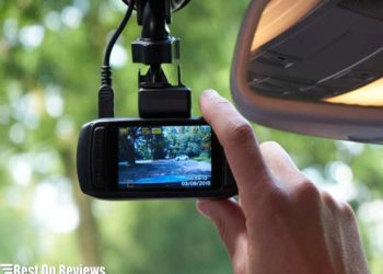 Front and Rear Dash Cams With Night Vision